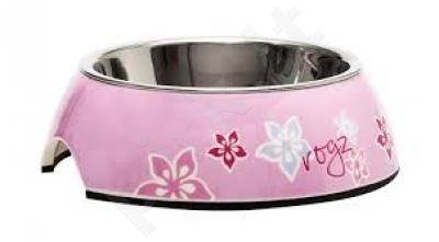 Rogz Dubenėlis Bowzl Small Pink Hibiscus 160ml