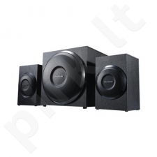 Microlab M-110 2.1 Speakers/ 10W RMS (2,5Wx2+5W)/ Black/ Wooden