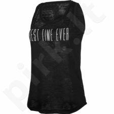 Marškinėliai Outhorn Message Tee Best W HOL17-TSD605 juoda