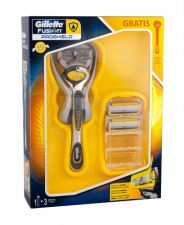 Gillette Fusion Proshield, rinkinys skutimosi peiliukai vyrams, (Shave Maschine + Spare Heads 2 pcs)
