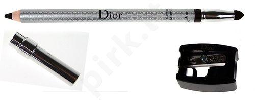 Christian Dior Dior akių kontūrų priemonė atsparus vandeniui, kosmetika moterims, 1,2g, (Black)
