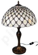 Vitražinė stalinė lempa 83953