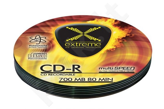 CD-R EXTREME [ Soft Pack 10 | 700MB | 52x | Silver ]