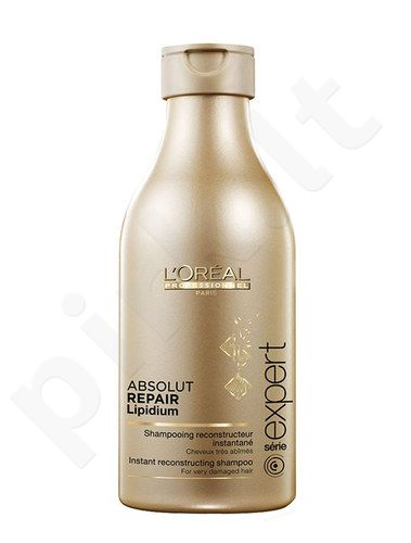 L´Oreal Paris Expert Absolut Repair Lipidium shampunas, kosmetika moterims, 250ml