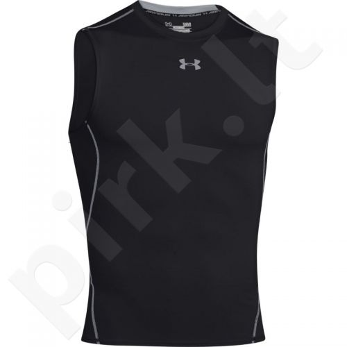 Marškinėliai termoaktyvūs Under Armour HeatGear Compression Sleeveless 1257469-001