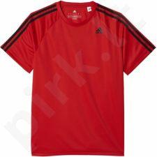 Marškinėliai treniruotėms Adidas Designed 2 Move Tee 3 Stripes M BK0965