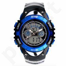 Vaikiškas, Moteriškas laikrodis SKMEI AD0998 Kid Size Dark Blue
