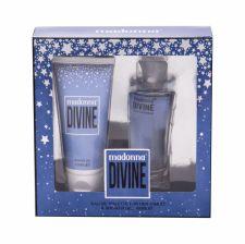 Madonna Nudes 1979 Divine, rinkinys tualetinis vanduo moterims, (EDT 50 ml + dušo želė 100 ml)