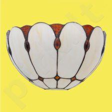 Šviestuvas sieninis vitražinis K-W122611 serijos Tiffany