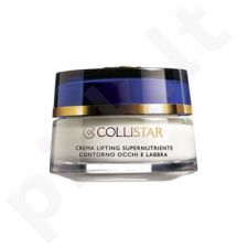 Collistar akių kontūrams And Lips Supernourishing Lifting kremas, 15ml, kosmetika moterims