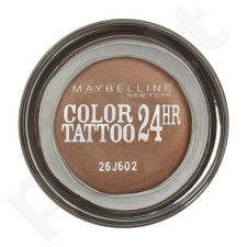 Maybelline Color Tattoo 24H akių šešėliai, kosmetika moterims, 4g, (55 Immortal Charcoal)