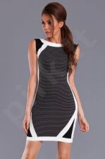 Emamoda suknelė - juoda 9410-1