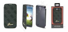 Samsung Galaxy S4 dėklas book Guess juodas/grey