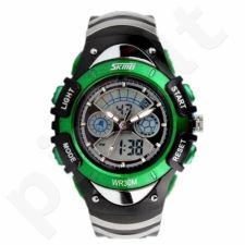 Vaikiškas, Moteriškas laikrodis SKMEI AD0998 Kid Size Green
