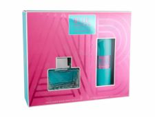 Antonio Banderas Blue Seduction For Women, rinkinys tualetinis vanduo moterims, (EDT 80 ml + dezodorantas 150 ml)