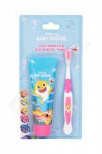 Pinkfong Baby Shark, rinkinys dantų šepetėlis vaikams, (Toothbrush 1 pc + Tooth Paste 75 ml)