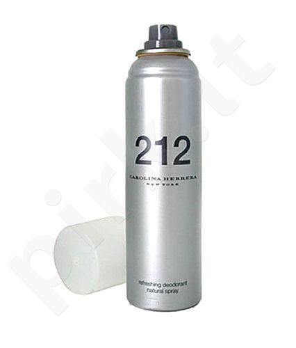 Carolina Herrera 212, 150ml, dezodorantas moterims