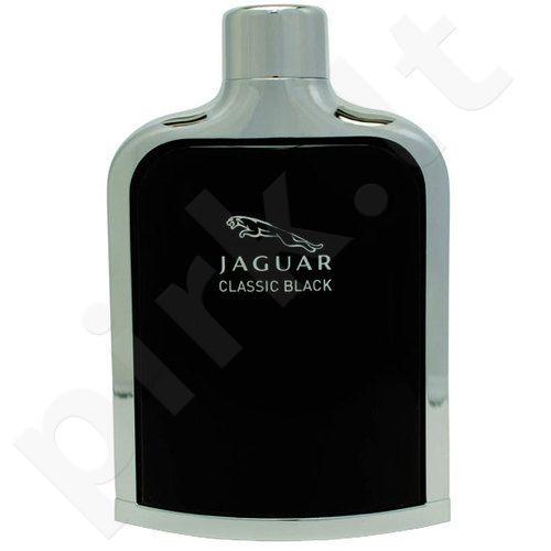 (Testeris)  Jaguar Classic Black, 100ml, tualetinis vanduo vyrams