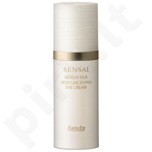 Kanebo Sensai Silk Moisture Supply akių kremas, kosmetika moterims, 15ml