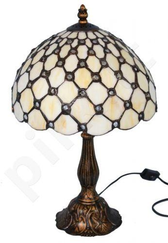 Vitražinė stalinė lempa 83952