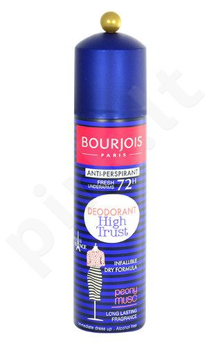 BOURJOIS Paris Anti-perspirant 72H dezodorantas High Trust, kosmetika moterims, 150ml