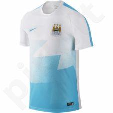 Marškinėliai futbolui Nike Manchester City FC Pre-Match Flash 1 M 688152-103