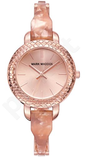 Moteriškas laikrodis MARK MADDOX – Pink Gold. 32 mm. kvarcinis WR 30 meters