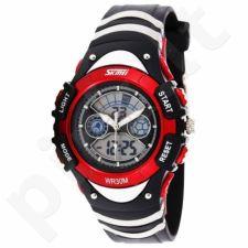 Vaikiškas, Moteriškas laikrodis SKMEI AD0998 Kid Size Red