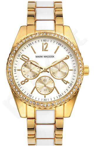 Moteriškas laikrodis MARK MADDOX – Street style. 38 mm. chronometras. kvarcinis WR 30 meters