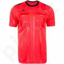 Marškinėliai teisėjams Adidas UCL Referee JSY trumpomis rankovėmis M AH9816