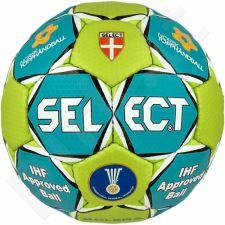Rankinio kamuolys SELECT Solera III NTH mėlyno-žalio atspalvio