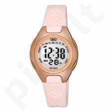 Vaikiškas, Moteriškas laikrodis Q&Q M195J006Y