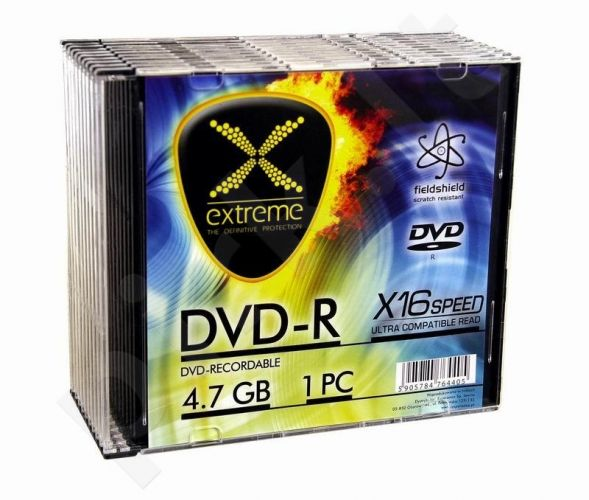DVD-R Extreme [ slim jewel case 10 | 4.7GB | 16x ]