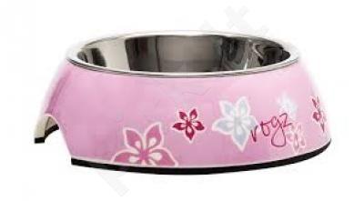Rogz Dubenėlis Bowzl Medium  Pink Hibiscus 350ml