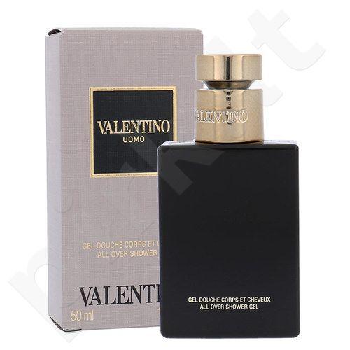 Valentino Valentino Uomo, dušo želė vyrams, 50ml