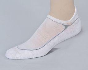 MINI FITNESS DEODORANT® moteriškos besiūlės frotė kojinės iki kulkšnies