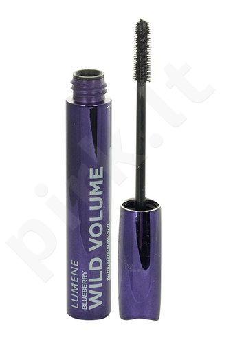 Lumene Blueberry Wild Volume blakstienų tušas, kosmetika moterims, 7ml, (Rich Black)