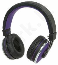 Bluetooth ausinės Manhattan Sound Science Cosmos Su mikrofonu Violetinės