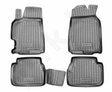 Guminiai kilimėliai 3D MAZDA 6 2002-2007, 4 pcs. /L45020G /gray