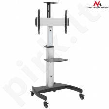 Maclean MC-801 Professional stand aluminum trolley max 50kg max VESA 600x400