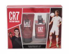 Cristiano Ronaldo CR7, rinkinys tualetinis vanduo vyrams, (EDT 30 ml + dušo želė 150 ml)