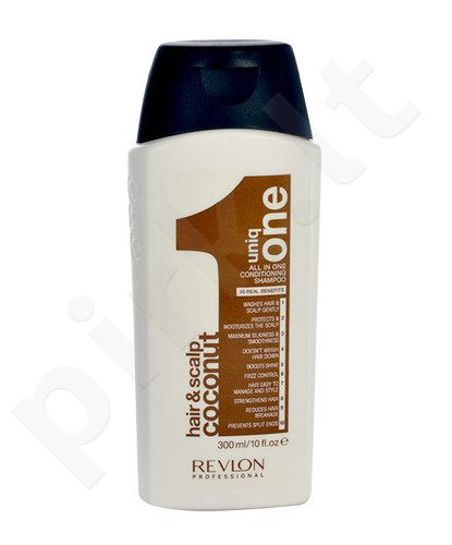 Revlon Uniq One Coconut Conditioning shampunas, kosmetika moterims, 300ml