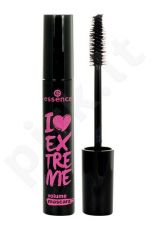 Essence I Love Extreme Volume blakstienų tušas, kosmetika moterims, 12ml, (Ultra Black)