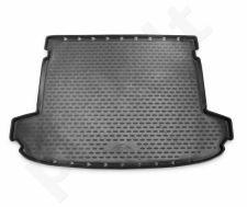 Guminis bagažinės kilimėlis KIA Sportage 2016->  black /N21043