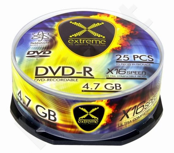 DVD-R Extreme [ cake box 25 | 4.7GB | 16x ]
