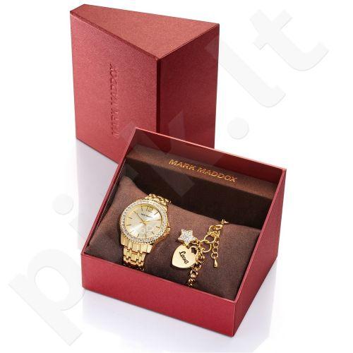 Laikrodis MARK MADDOX + apyrankė SAN VALENTIN collection WR: 3 ATM