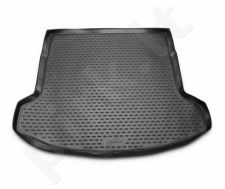 Guminis bagažinės kilimėlis NISSAN Qashqai+2 2008-2014 (folded 3th row) black /N28023