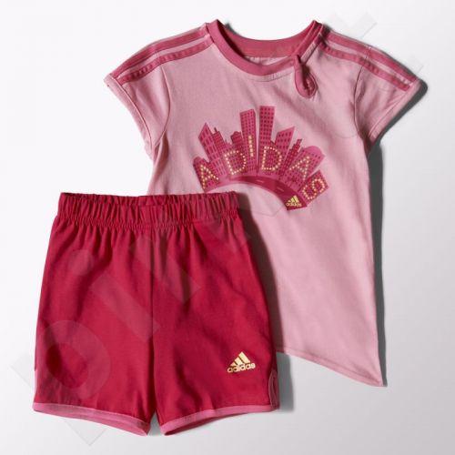 Komplektas Adidas Girls Summer Set Kids S21458