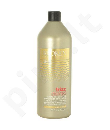 Redken Frizz Dismiss Sulfate-Free šampūnas, kosmetika moterims, 1000ml