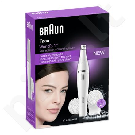 Braun SE820 Face Epilator & Facial cleansing brush